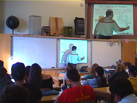 Richard teaching at Berkeley High School